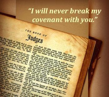 Judges bible page