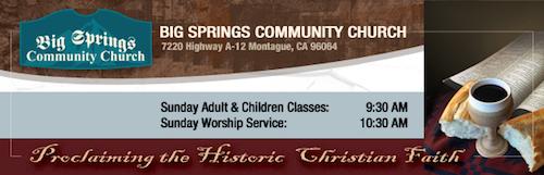 Big Springs Community Church
